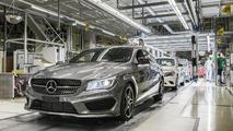 Mercedes CLA Shooting Brake production in Kecskemét, Hungary