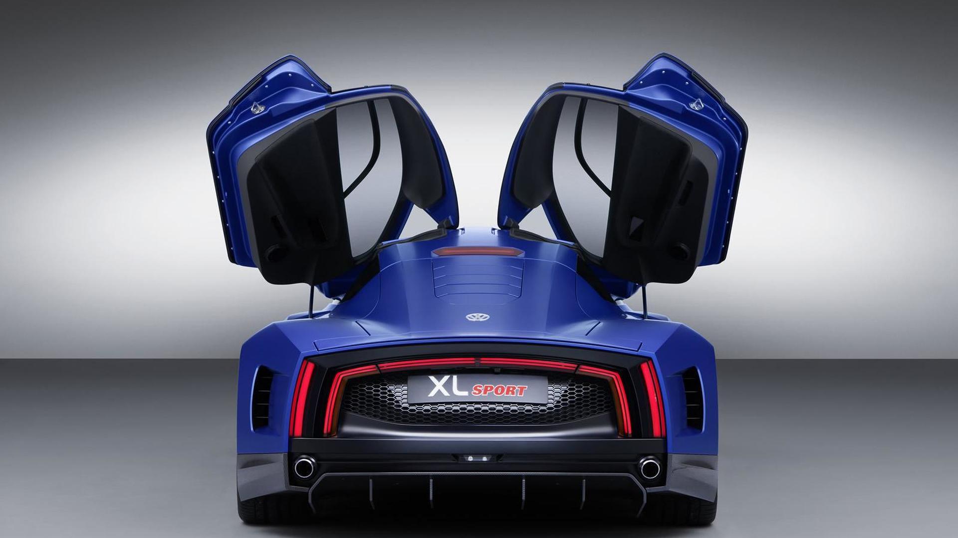 VW XL Sport: двери открываются как у суперкара