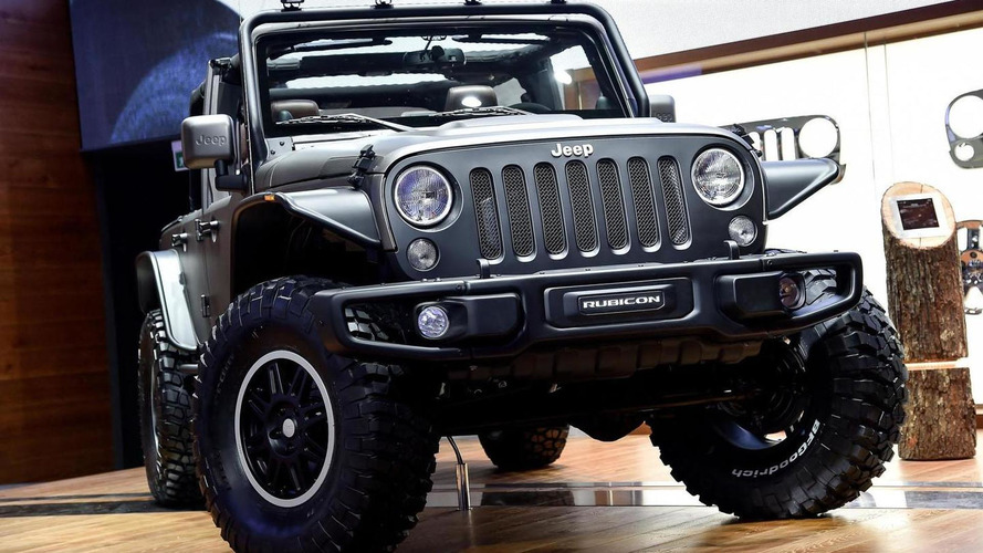 Jeep Wrangler Stealth concept is ready to storm the beaches of France