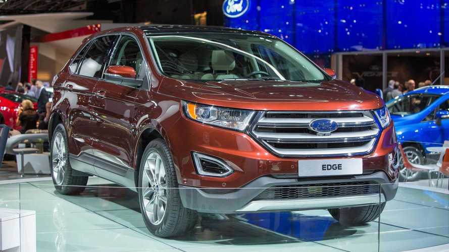 Euro-spec Ford Edge debuts in Paris with a diesel engine
