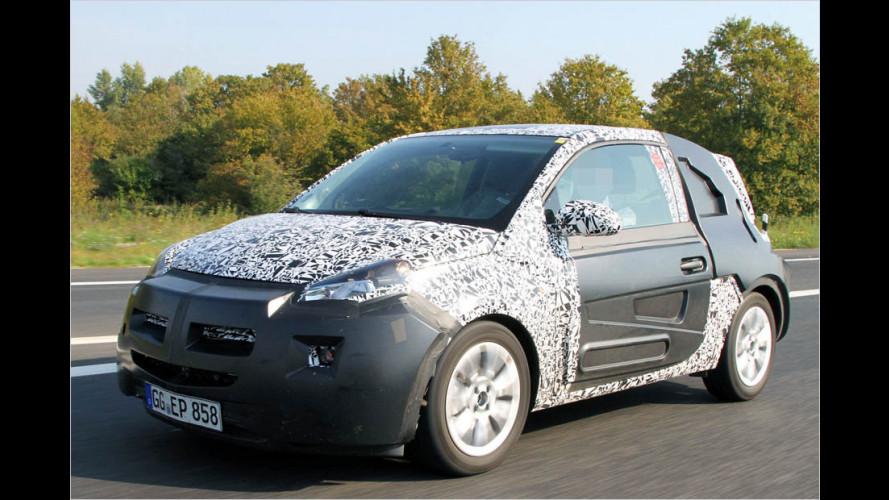 Erwischt: Neuer Opel Allegra