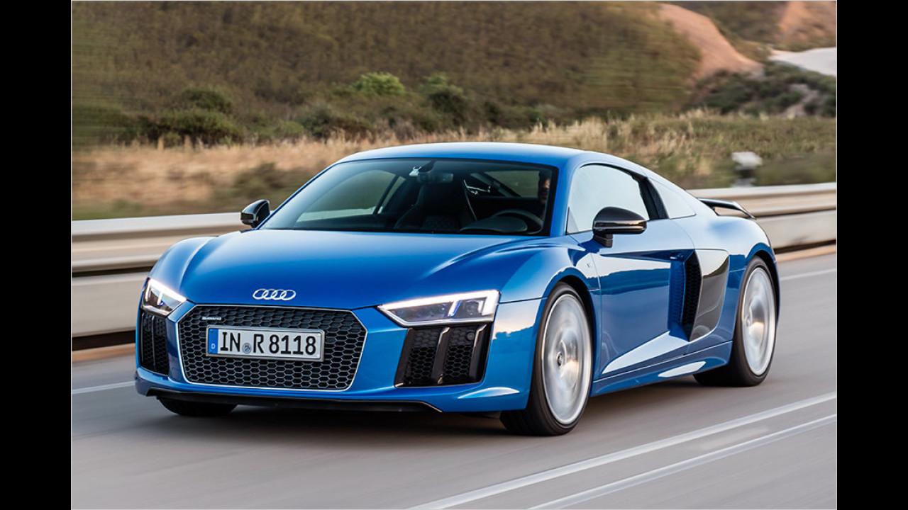 Auflösung: Der Audi R8