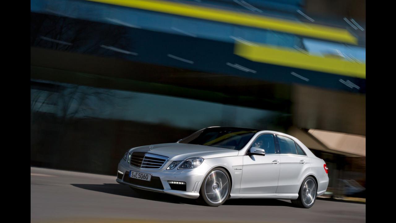 Nuova Mercedes E 63 AMG