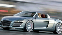 Audi R8 Targa artist interpretation