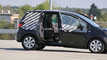 Opel Meriva Spied with FLEX Doors Wide Open 09.30.2009