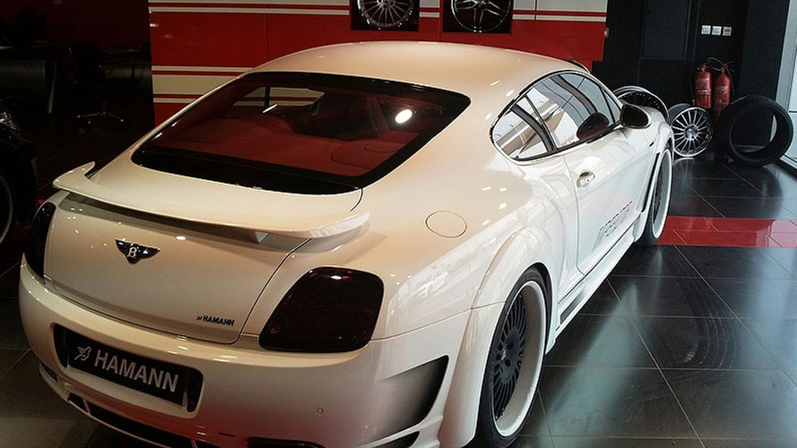 HAMANN Imperator Widebody based on Bentley Continental GT Speed First Images Released