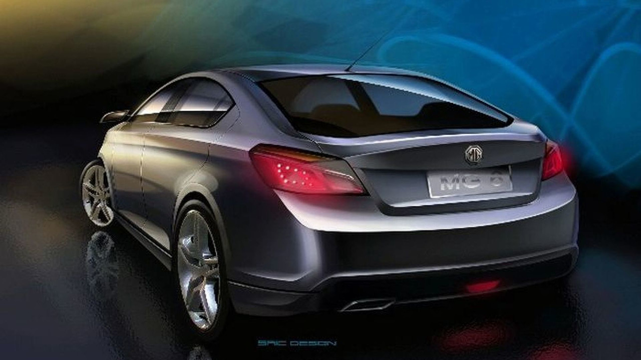 MG Rover MG6 Concept design sketches