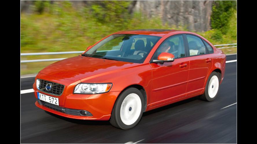 Volvo S40 und V50: Unter 100 Gramm CO2