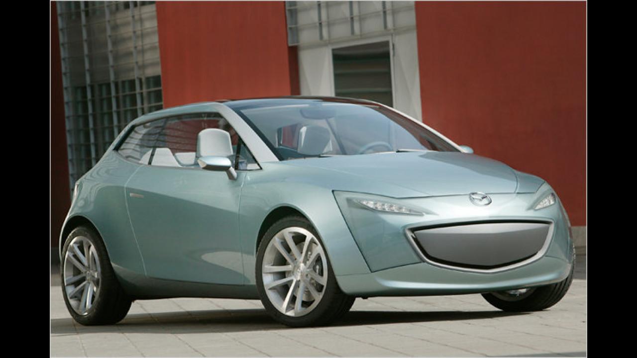 Aus dem Mazda Sassou ...