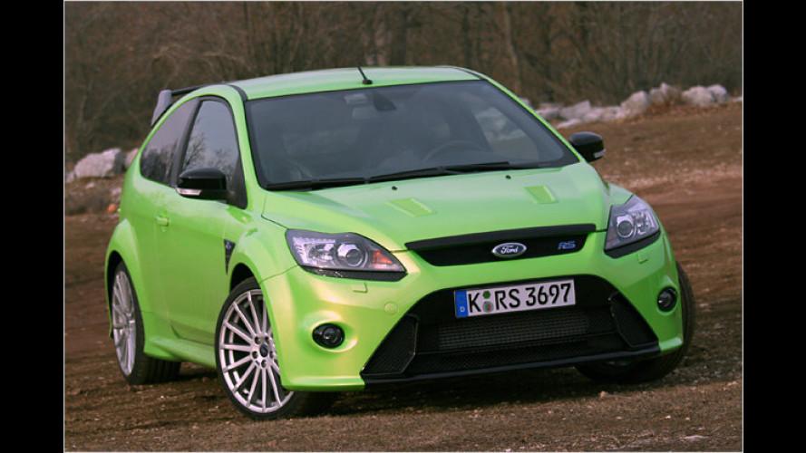 Auf den Spuren der WRC: Der neue Ford Focus RS im Test