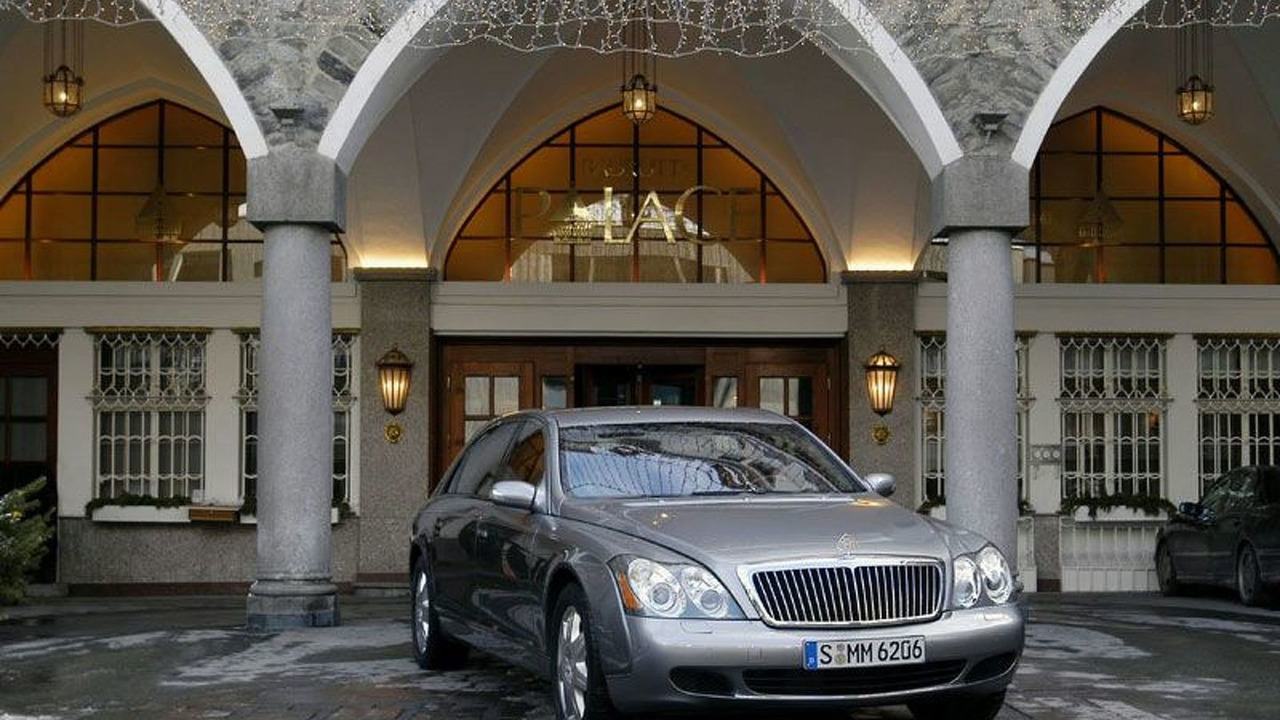 Maybach in St Moritz