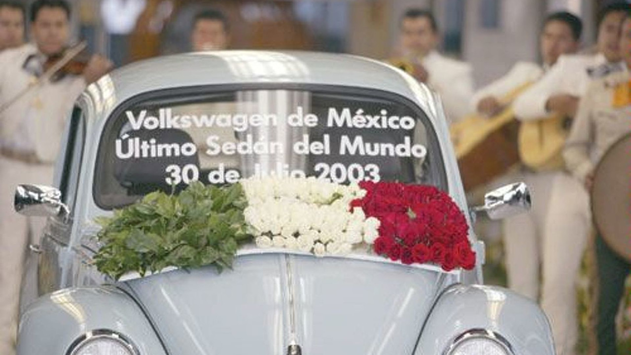 Last VW Beetle