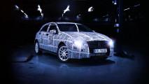 Mercedes Classe A. Primo teaser