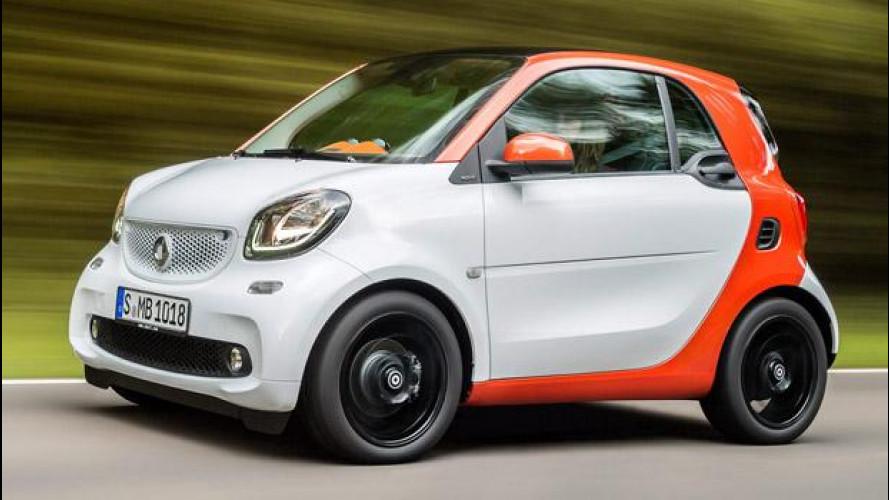 Le nuove smart fortwo e forfour si provano al Motor Show