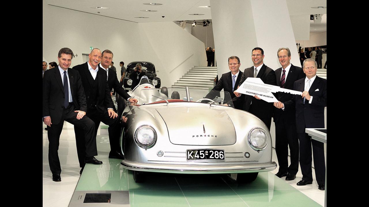 Il Museo Porsche a Zuffenhausen