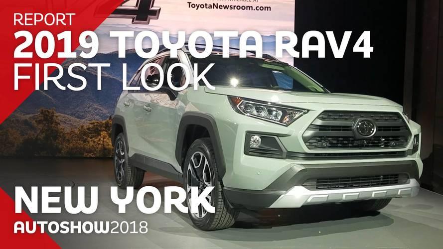 2019 Toyota RAV4: First Look Video
