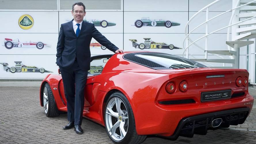 Lotus CEO Jean-Marc Gales