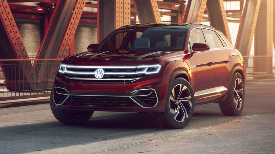 Lendületes vonalakkal csábítja a fiatalokat a Volkswagen Atlas Cross Sport