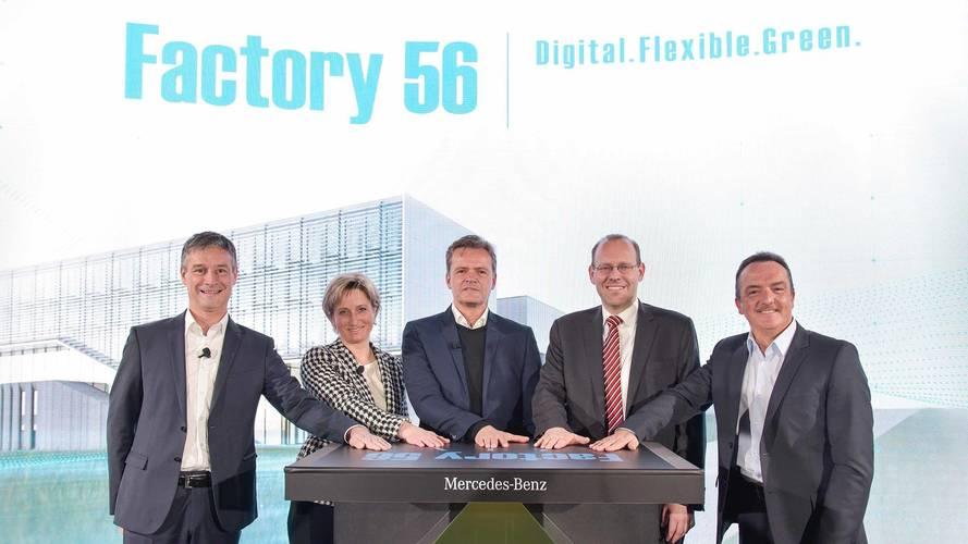 Mercedes-Benz Factory 56: fase de construcción