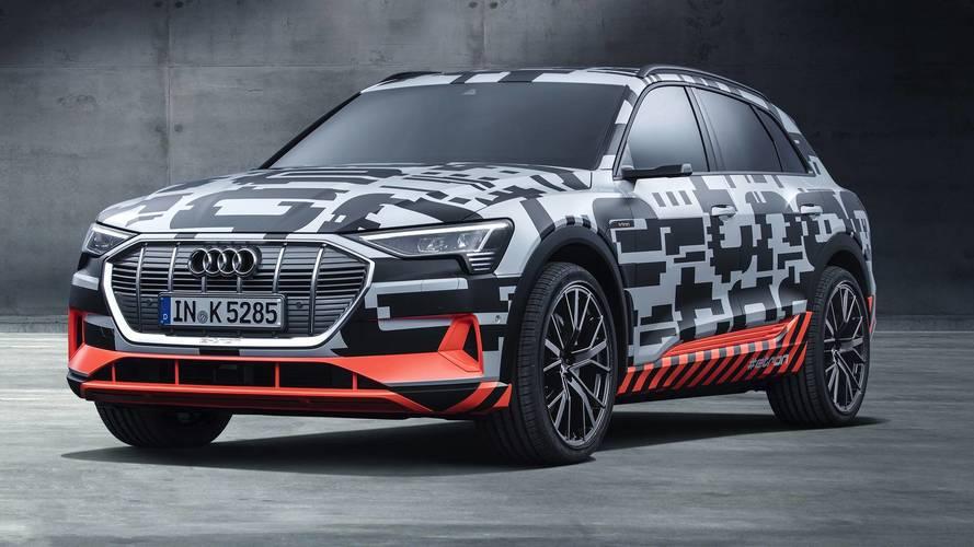 Audi e-tron, il primo SUV anti Tesla Model X si può ordinare