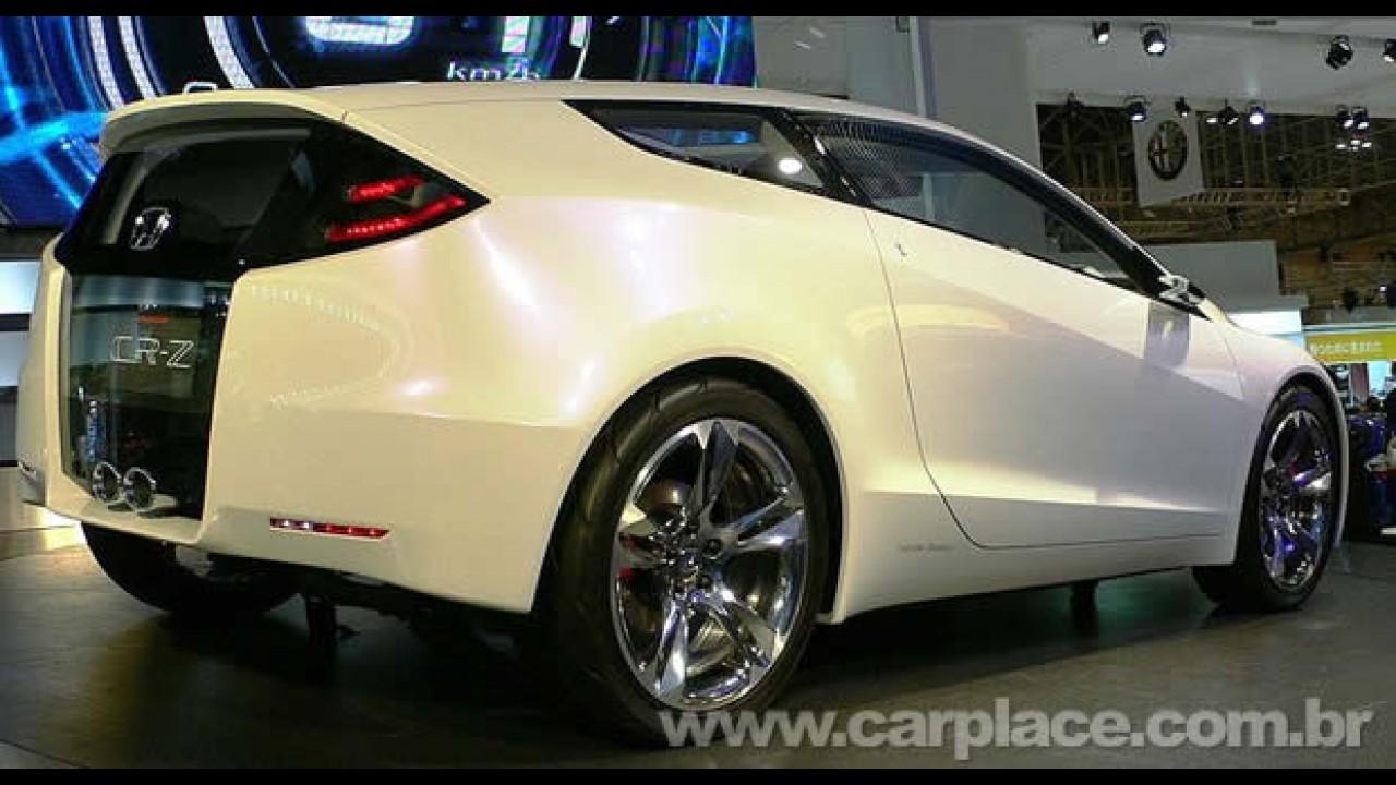Honda confirma produção do Fit e CR-Z híbridos em 2010