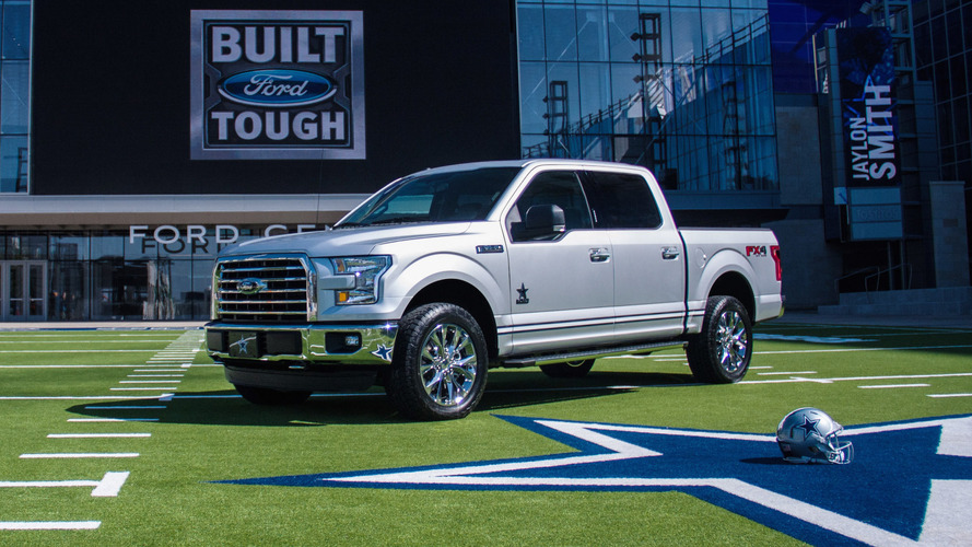 This Ford F-150 limited edition is for hardcore Dallas Cowboys fans