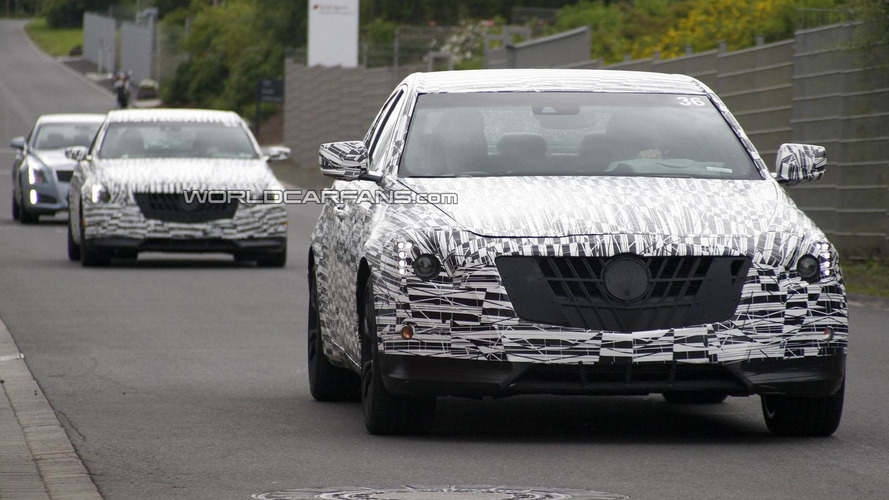 Cadillac testing twin-turbo and supercharged engines for the 2015 CTS-V - report