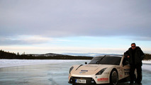Electric RaceAbout top speed record attempt 22.03.2012