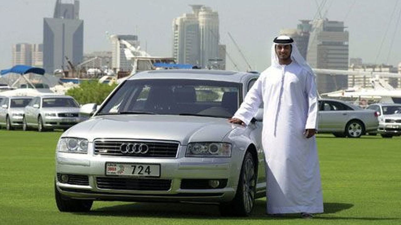 Audi A8 in Dubai