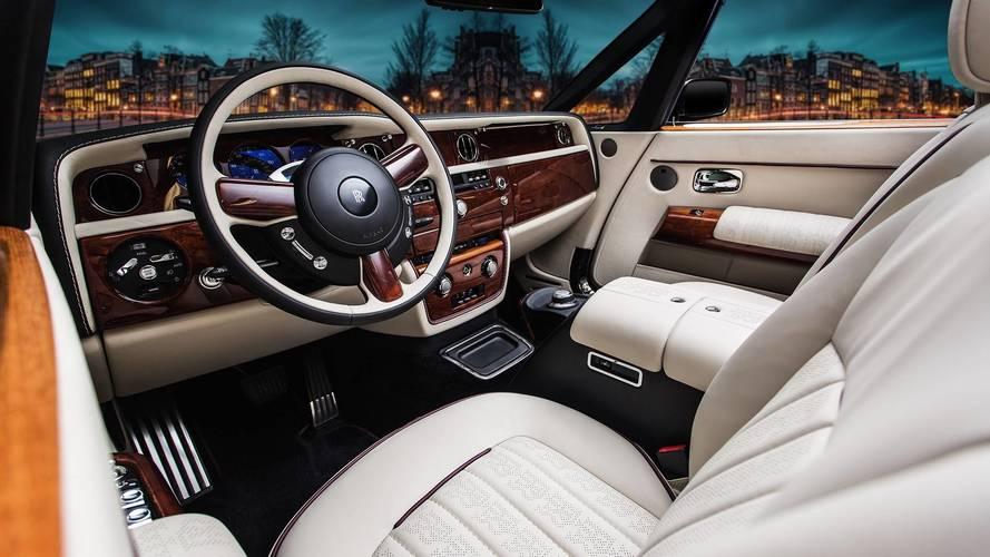 Vilner'ın Rolls-Royce Phantom Drophead Coupe'si çok özel