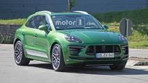 Porsche Macan Refresh Spy Photos