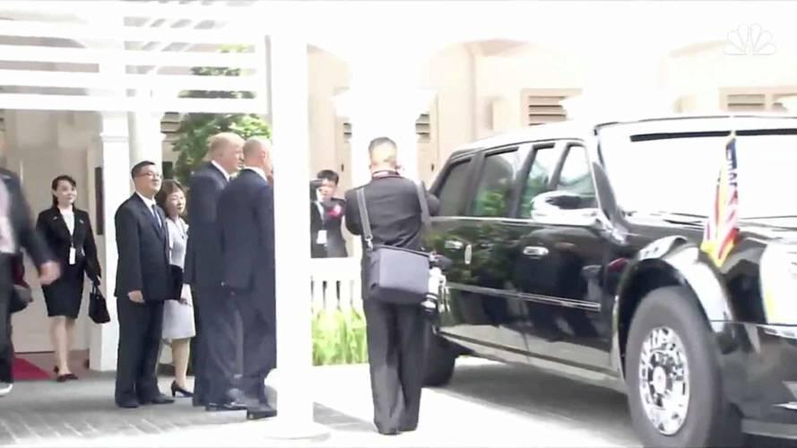 Watch President Trump and Kim Jong-Un Bond Over The Beast