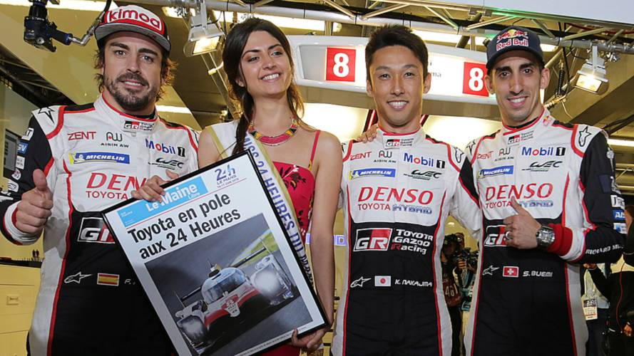 Alonso's Toyota grabs pole at Le Mans 24h