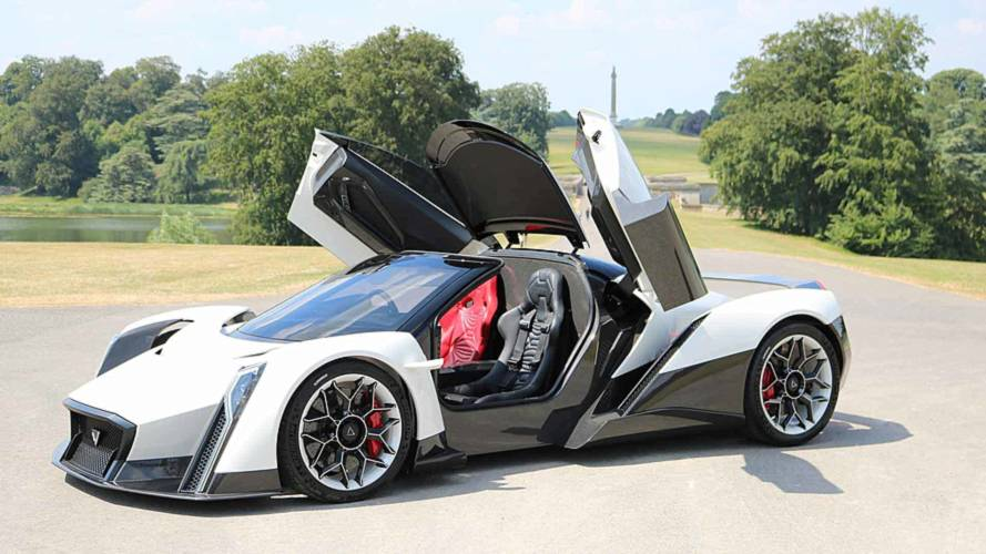 Dendrobium 1800-bhp electric hypercar to be built in UK