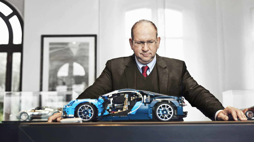Bugatti Chiron Gets Lego Makeover With Amazing 3,599-Piece Kit