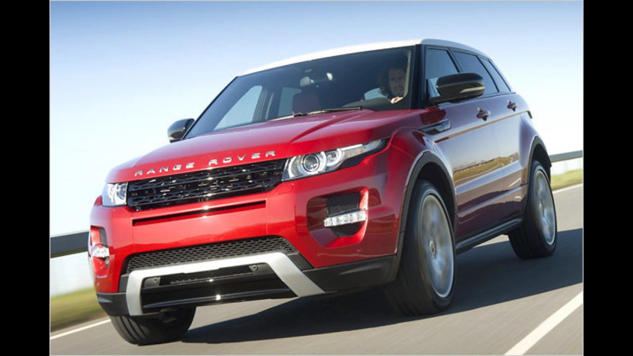 ... wurde der Range Rover Evoque