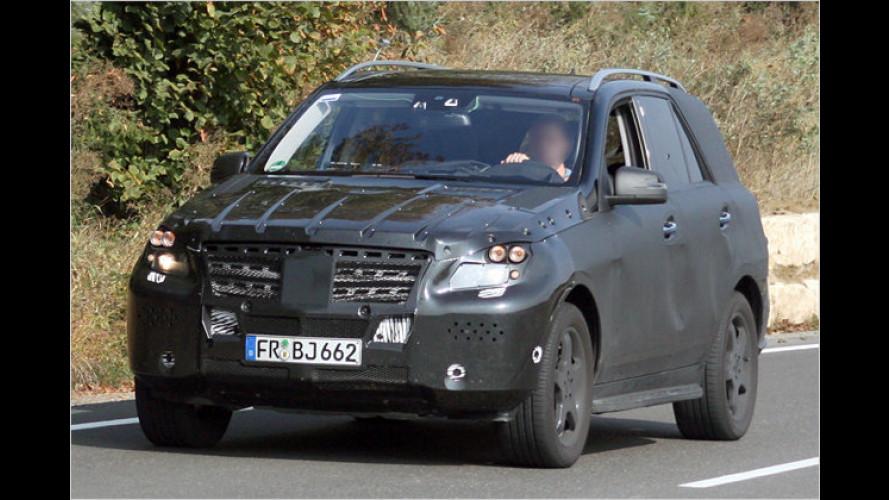 Erwischt: Erste Erlkönigbilder der neuen Mercedes M-Klasse
