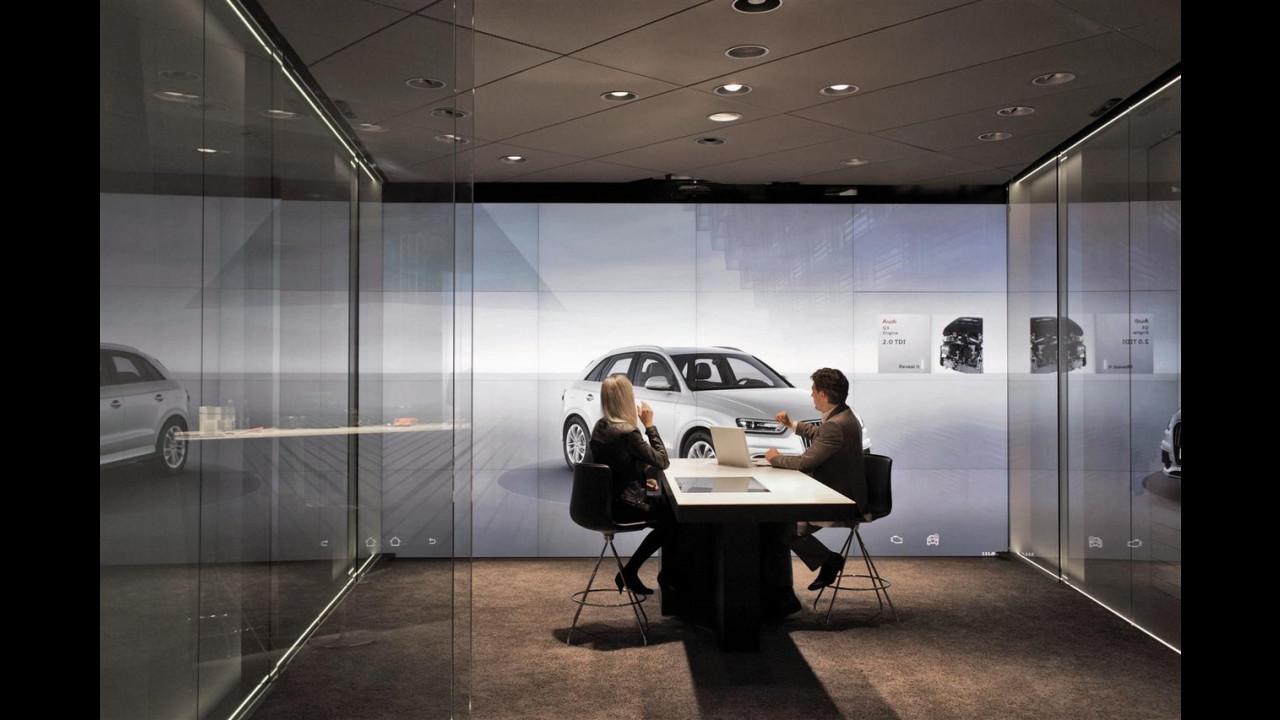 La concessionaria virtuale Audi