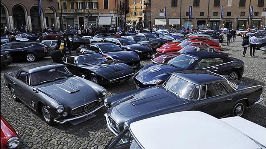 Maserati da sogno al raduno dei 100 anni