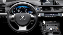 Lexus announces CT 200h pricing (US)