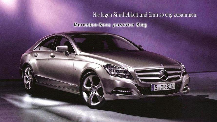 2012 Mercedes CLS brochure images leaked - plus latest Nurburgring shots