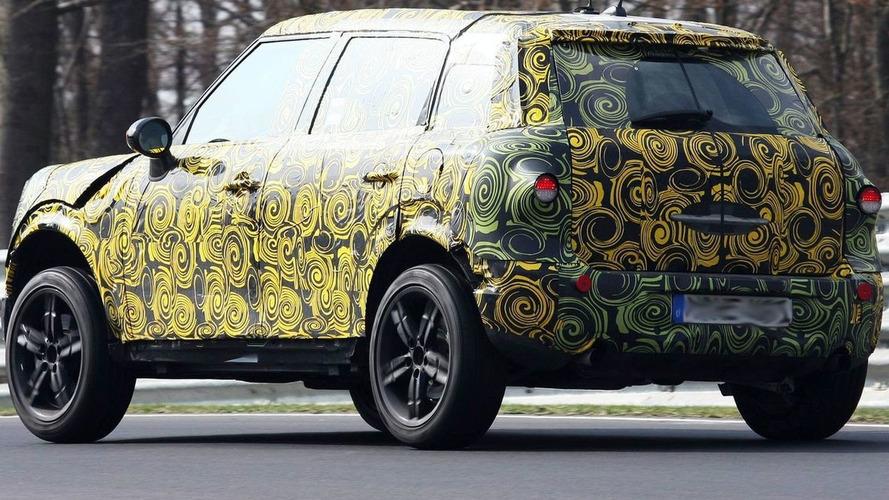 MINI Crossman SUV Interior - Spies Catch a Glimpse