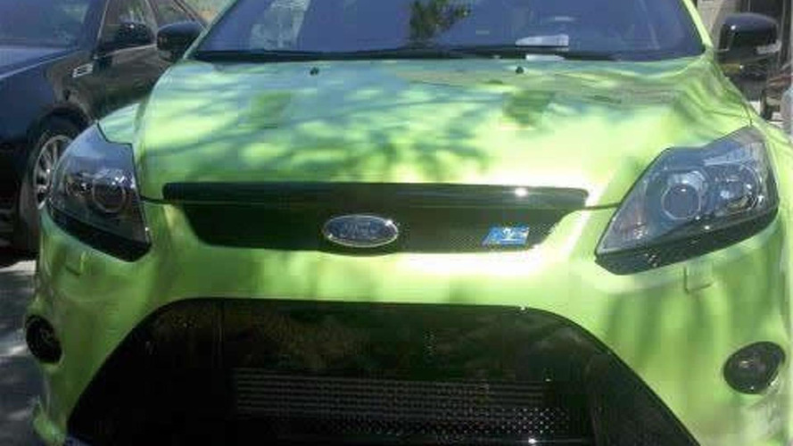 WCF reader spots Ford Focus RS in Detroit
