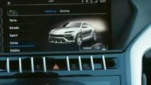 Lamborghini Urus new teaser