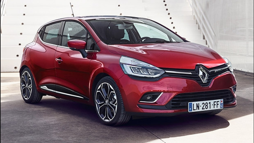 Renault Clio, un restyling da guardare negli occhi