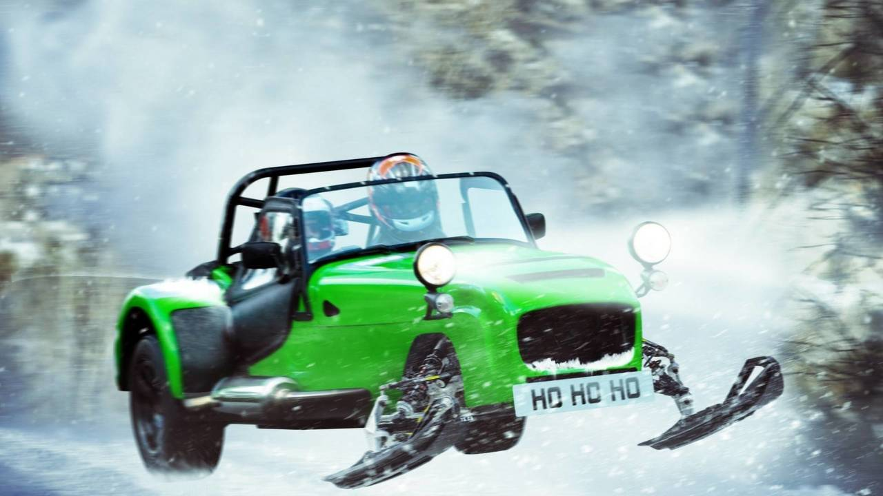 Snow Plough Car >> Conquer Winter With These 5 Cold-Weather Supercar Renderings