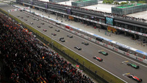 The start of the race, 20.04.2014, Chinese Grand Prix, Shanghai / XPB