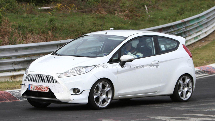 2012 Ford Fiesta ST 3- and 5-door spied