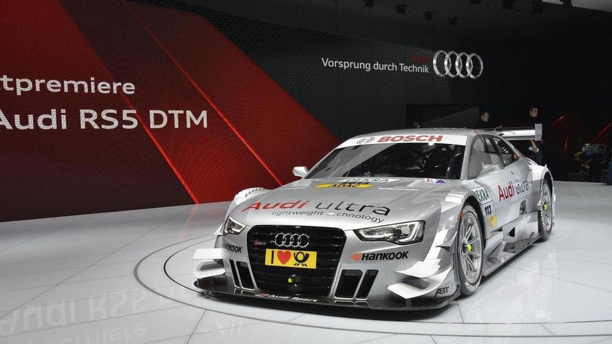 Audi RS 5 DTM makes a surprise debut in Geneva