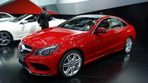 2014 Mercedes-Benz E-Class Coupe live in Detroit 14.01.2013